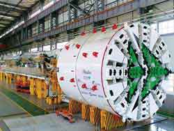 CREG's EPB TBM Ready to Perform in Italy
