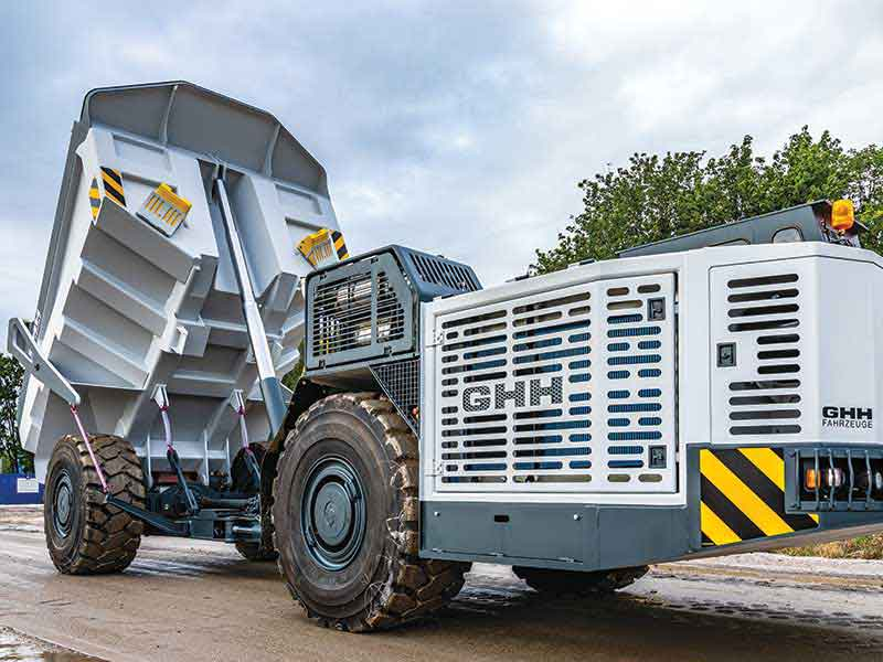 GHH's MK-A35 – Ideal for Tunneling & Mass Mining