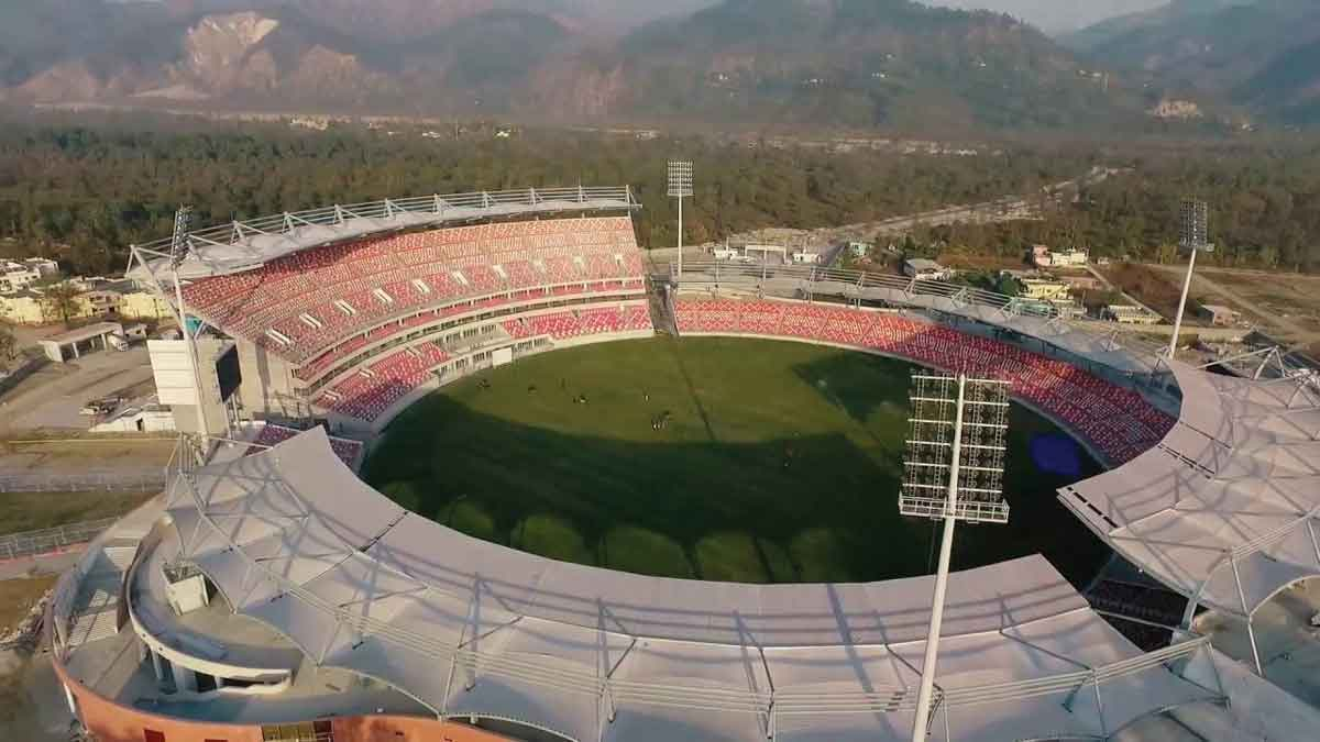 Rajiv Gandhi International Cricket Stadium & Sports Complex at Dehradun