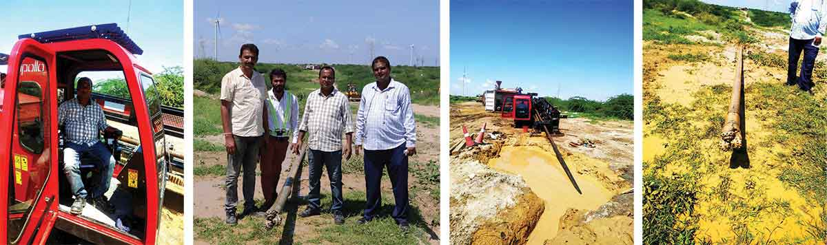 IOCL-ADANI of gas pipeline project executed by Guru Construction Company