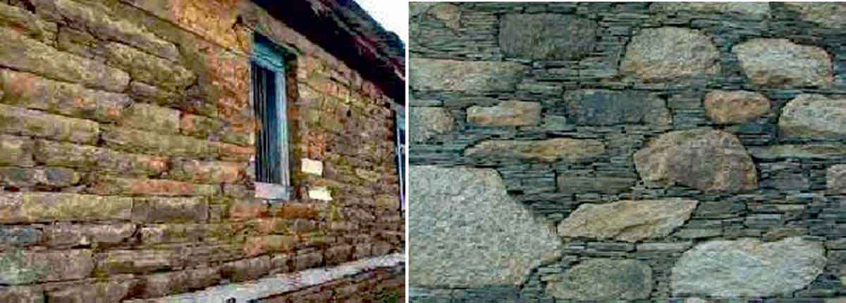 Flat stones and large undressed stones (Mitigation and Centre 2013)