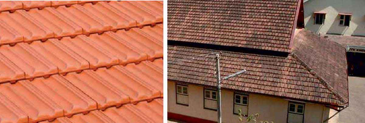Mangalore tiles used in roofs (Source -Sarathraj and Somayaji 2014)