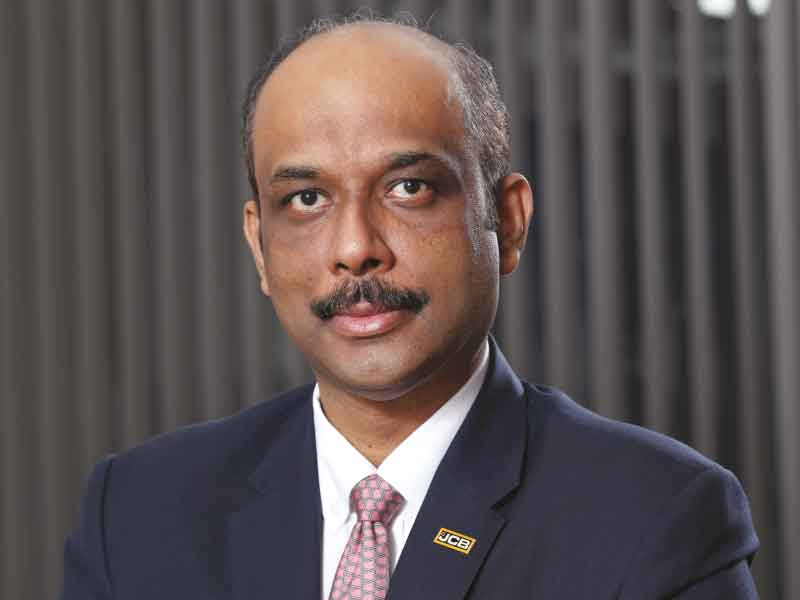 Deepak Shetty, Chief Executive Officer and Managing Director at JCB India