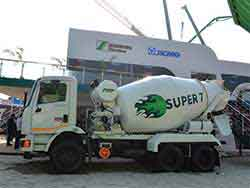 Schwing Stetter introduces premium variants of concrete truck mixers Super® 7 in partnership with Mahindra Powerol