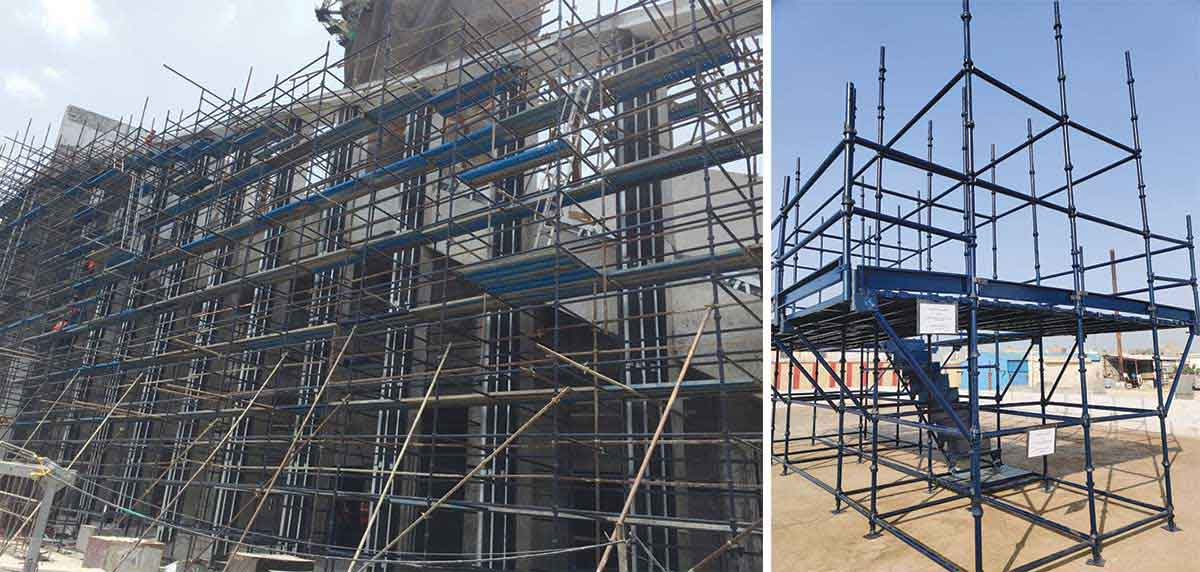 Modern Scaffolds - Designed to be Faster, Safer, Dependable