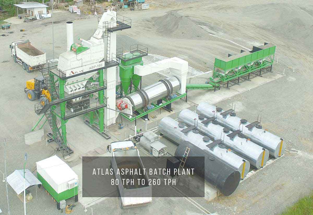 Atlas asphallt batch plant