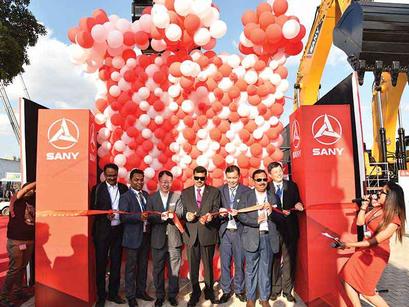 SANY launches new product line