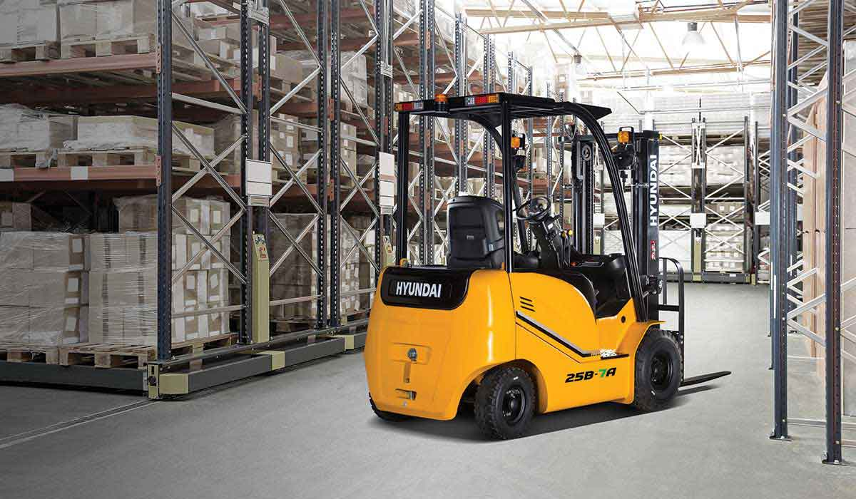 Hyundai CE India Excavators and Forklift range
