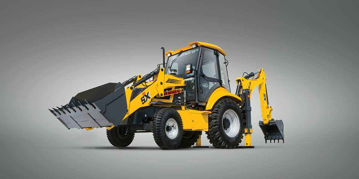 Mahindra construction equipment products