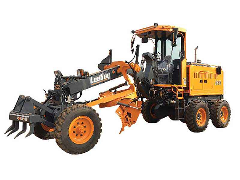 Leeboy launches new series of compact motor graders
