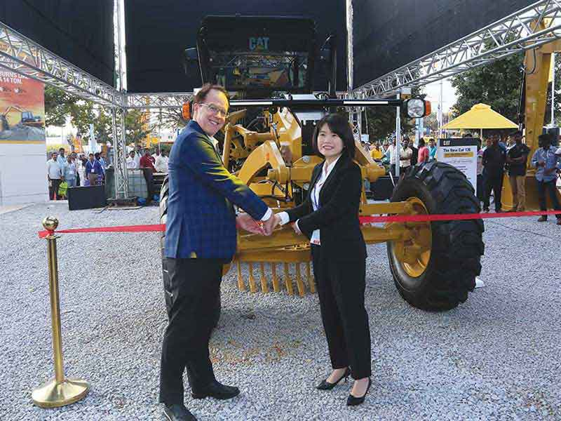 Caterpillar unveils new products for Indian market