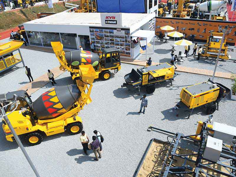 KYB Conmat launches new equipment in Excon 2019