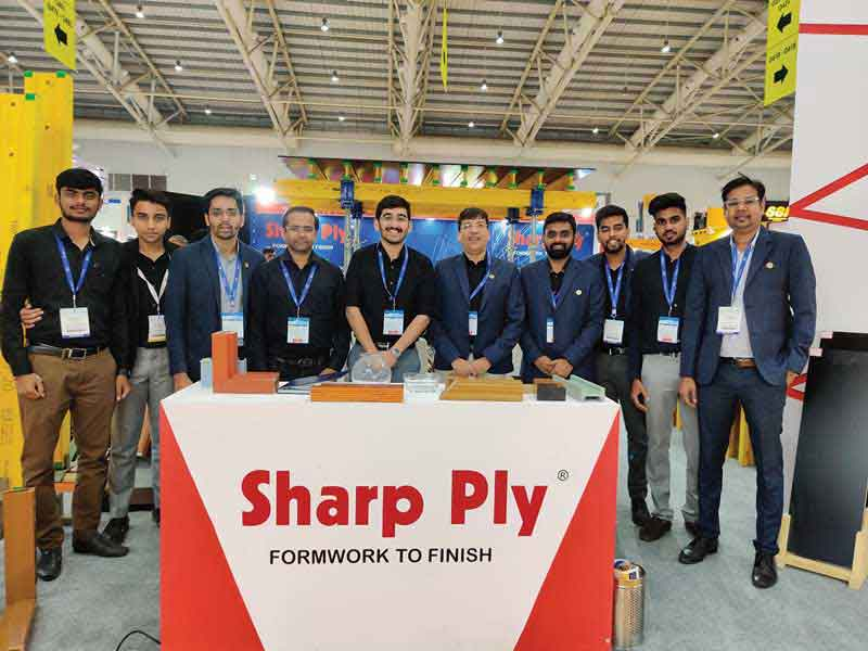 Sharp Ply introduces ECP doors and window frames based on the concept of WPC