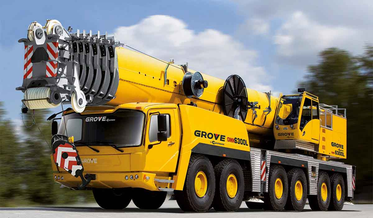 Grove All-Terrain crane (GMK)