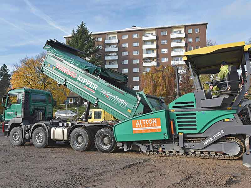 SpeditionTrettin has relied exclusively on MEILLER tippers for generations
