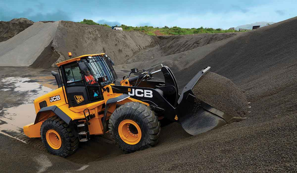 JCB Wheel Loader 455ZX