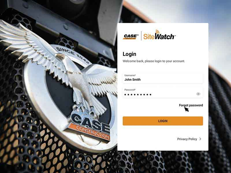 CASE Releases SiteWatch Telematics Platform with New Design, New Dashboard and Simple Navigation