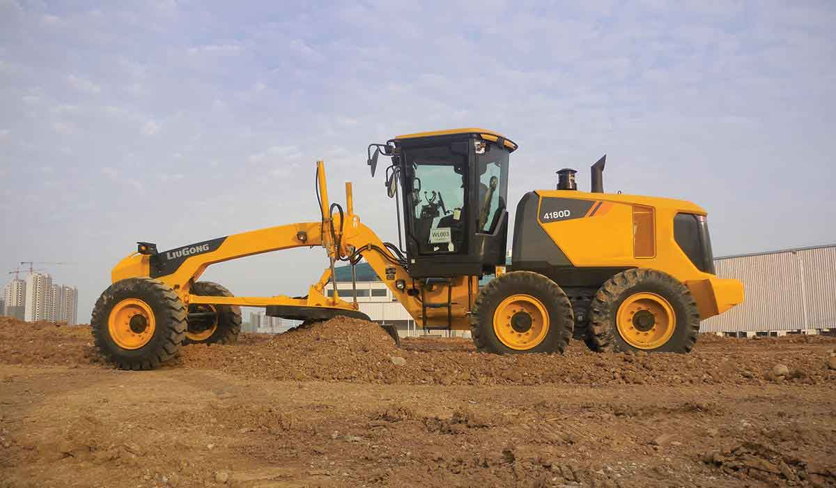 LiuGong motor graders of 150-180-220-250-280 hp