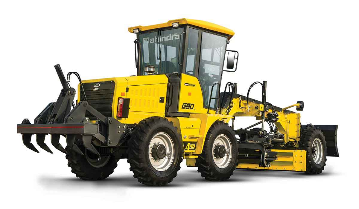 Mahindra G 90 and G 75 motor graders