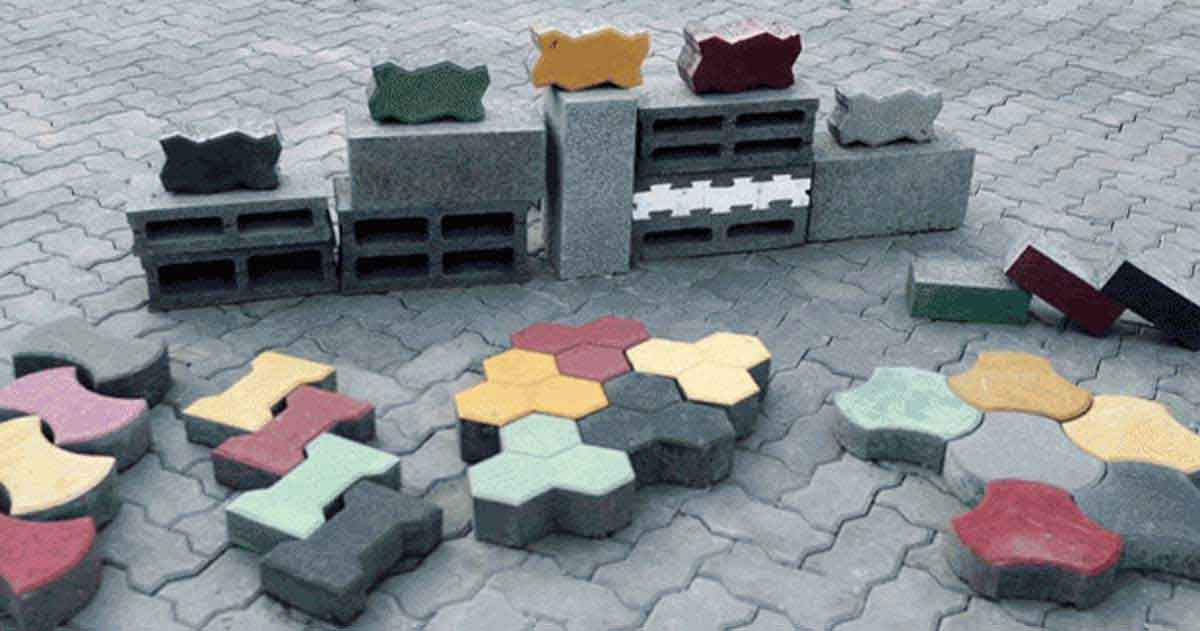 Ecofriendly Paver Block