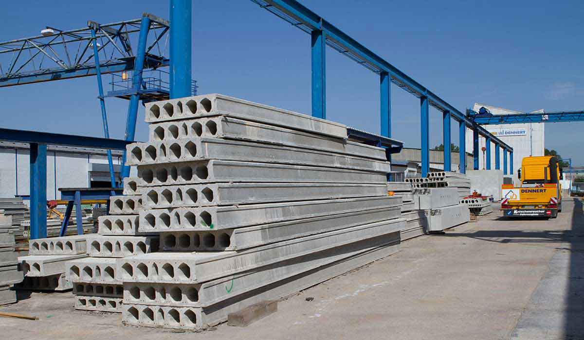 prestressed hollow-core slabs