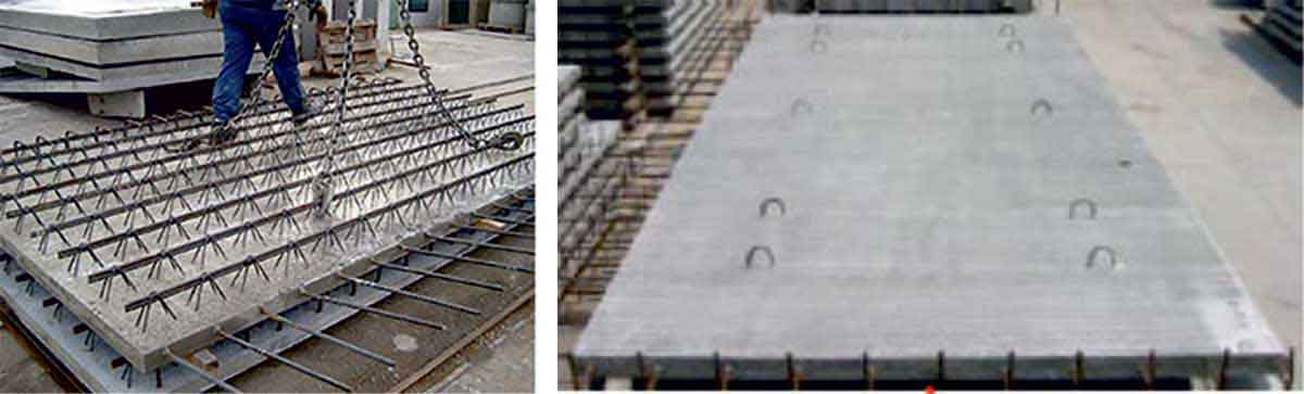 Types of Semi-precast slabs