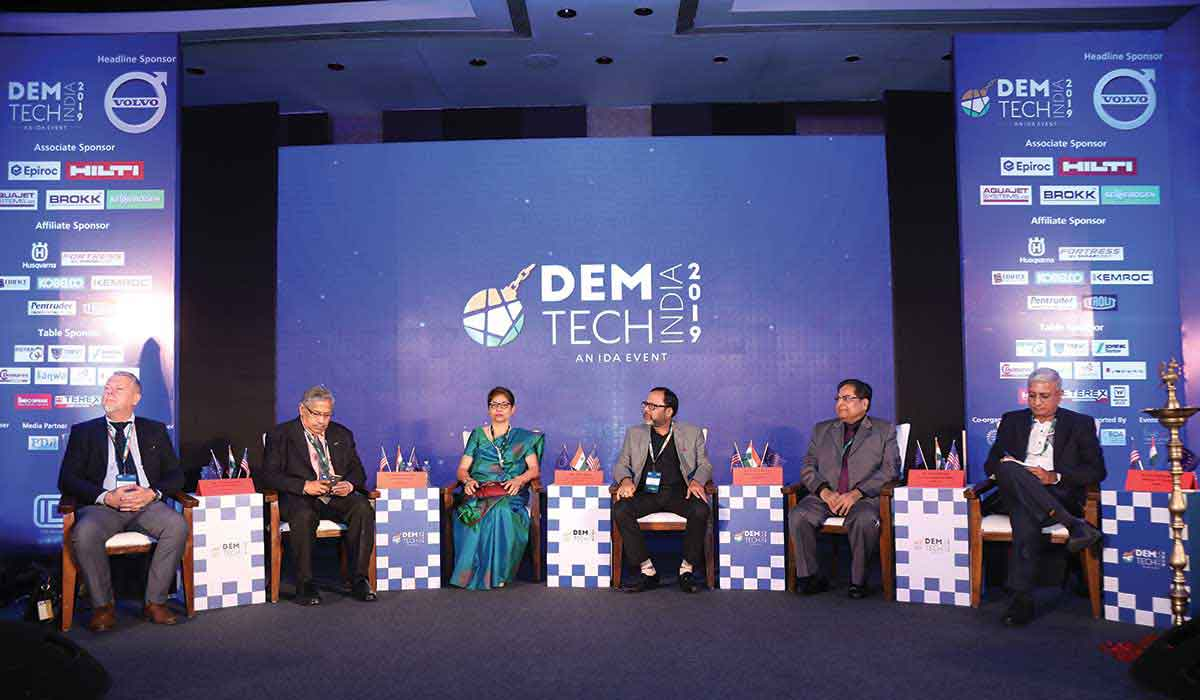 Demtech India 2019 - Plaque Inauguration