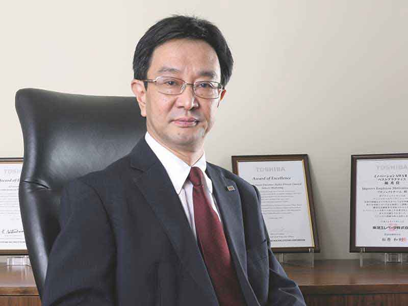 Junichi Kyushima, MD, Toshiba Johnson Elevators India