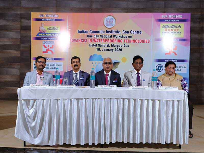 National Workshop on Advances in Waterproofing Technologies