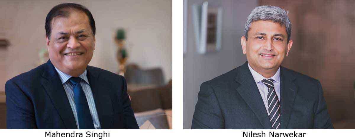 Mahendra Singhi (Managing Director & CEO – Dalmia Cement (Bharat) Limited) and Nilesh Narwekar (CEO – JSW Cement)