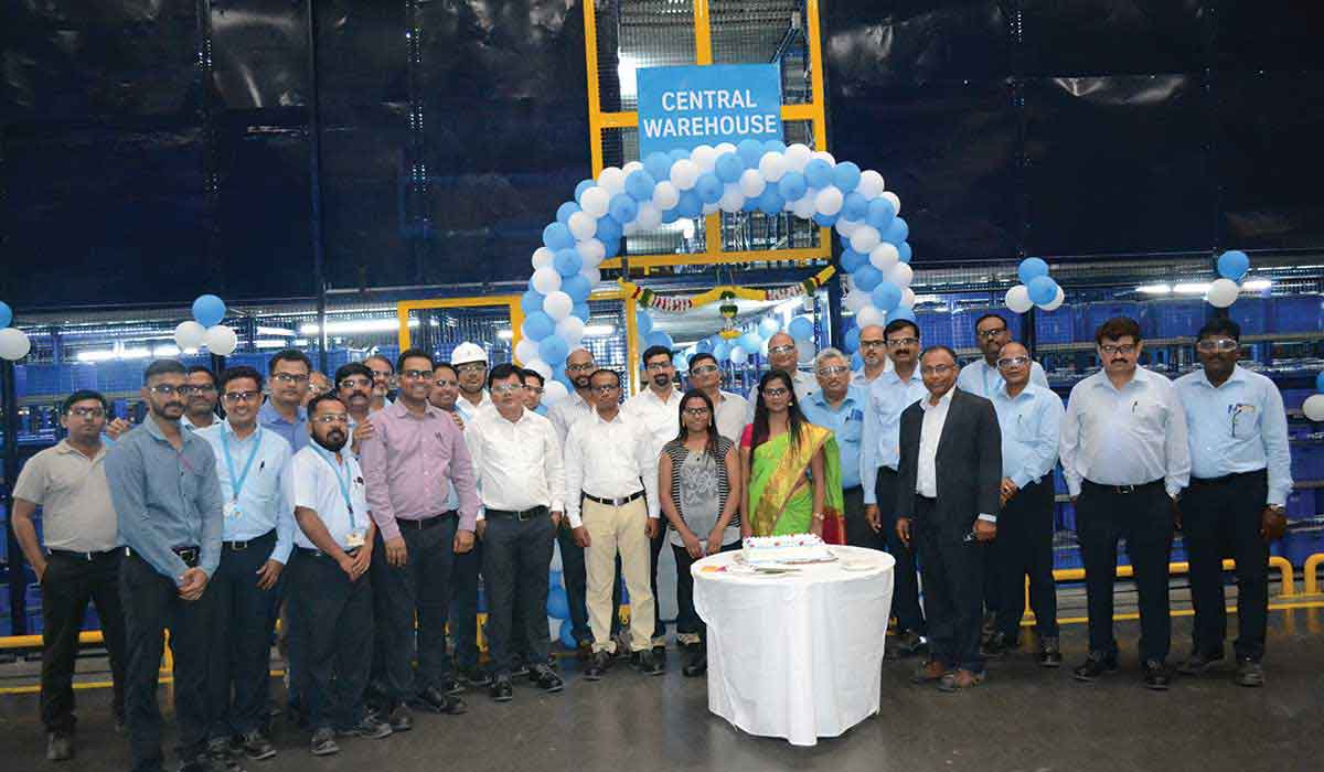 thyssenkrupp launched spare parts warehouse in Pune