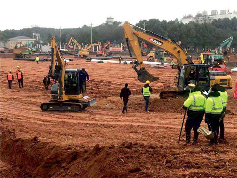 Chinese construction equipment brands show up in large numbers at CONEXPO 2020