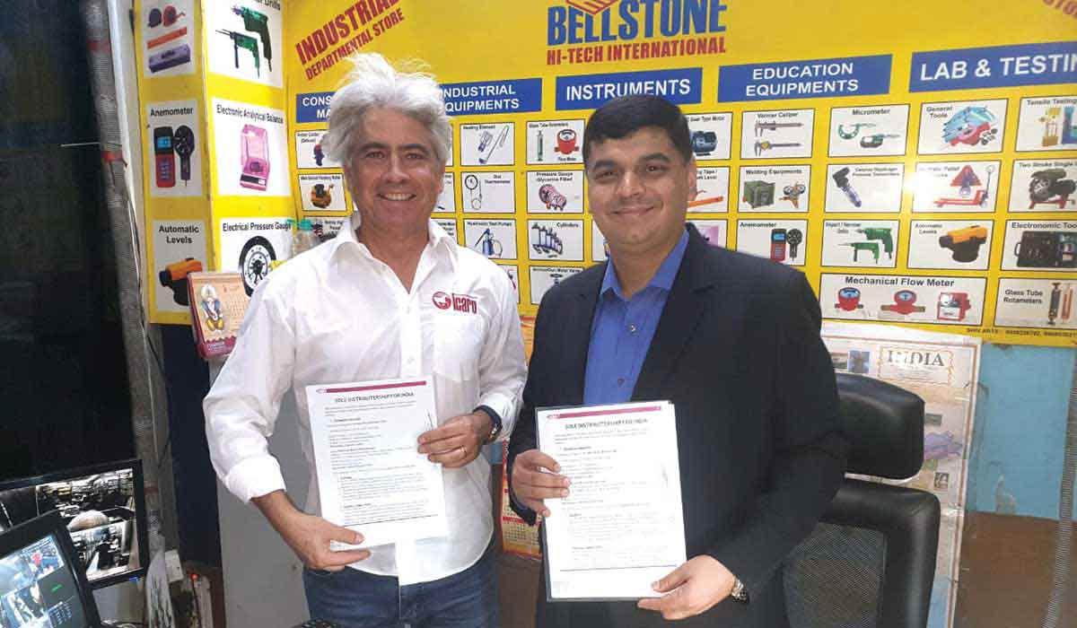 BELLSTONE signs distribution tie-ups with ICARO Machinery of Italy