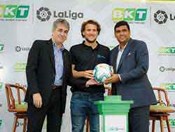 BKT enters three-year agreement with Laliga