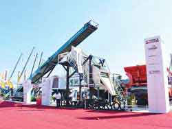 Terex brands on display with new products