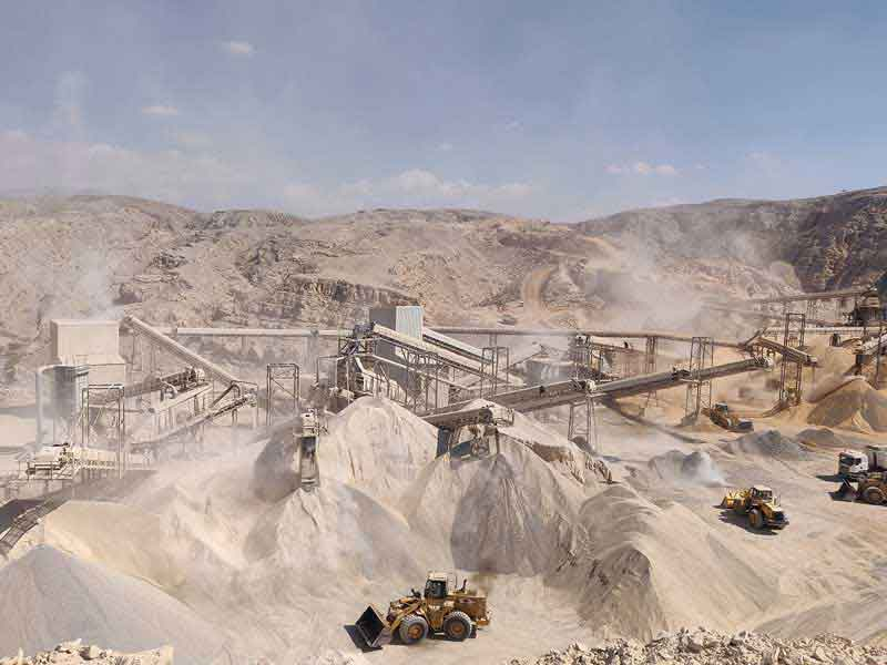 Terex MPS Plant Aids Limestone Production for JSW Cement in Middle East
