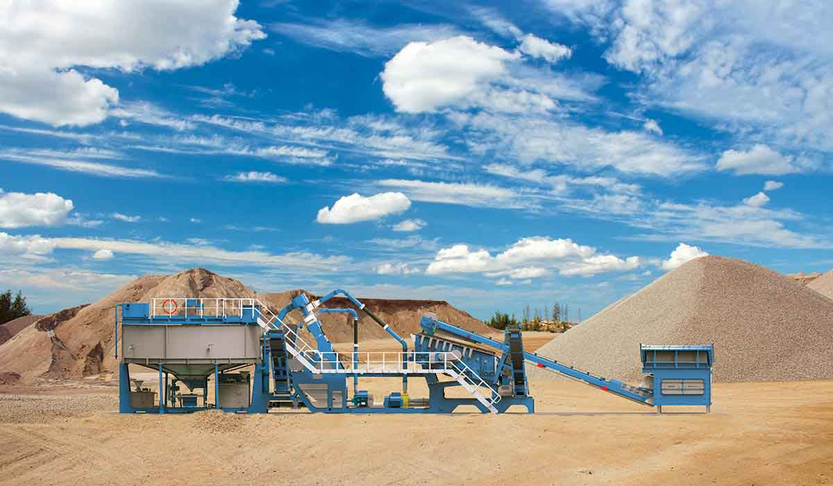 CDE Asia - sand plant