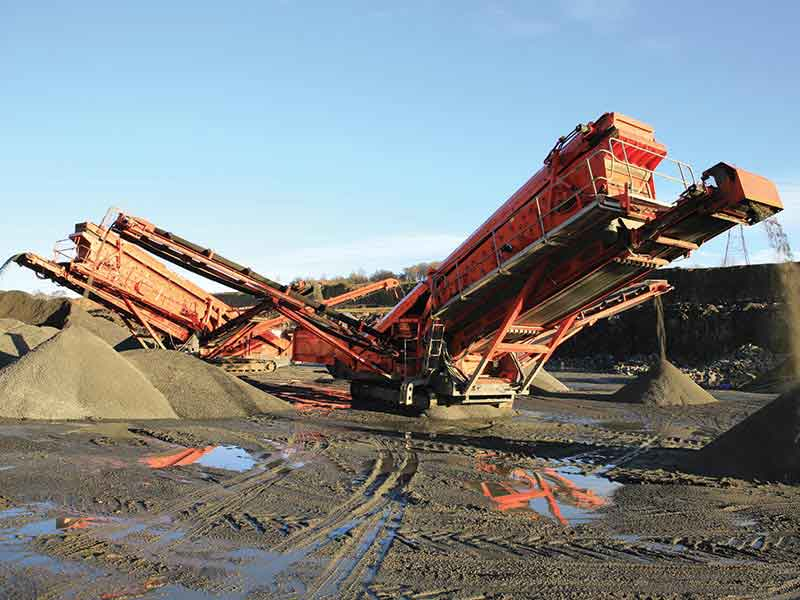 Crushing & Screening - Market Seeing Renewed Focus on Customization, Quality and Services