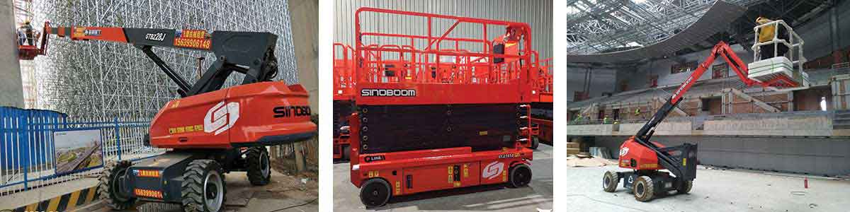 SINOBOOM exhibits range of high-quality access equipment