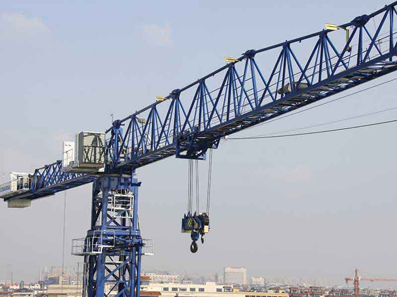 Comansa launches 21CM750 - the largest crane manufactured at its plant in Hangzhou