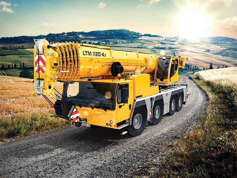 Maximum lifting capacity on four axles – Liebherr unveils the new LTM 1120 4.1