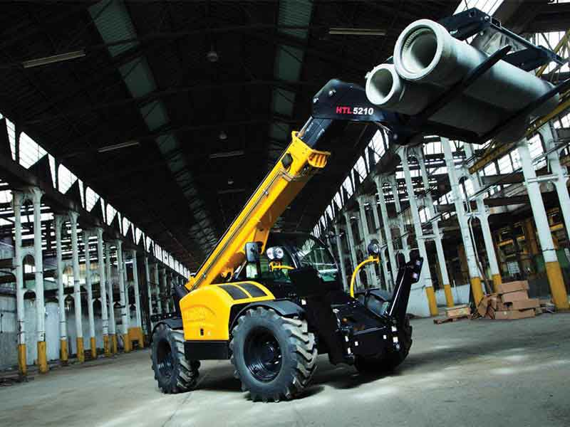 Haulotte telehandlers: stability & Safety