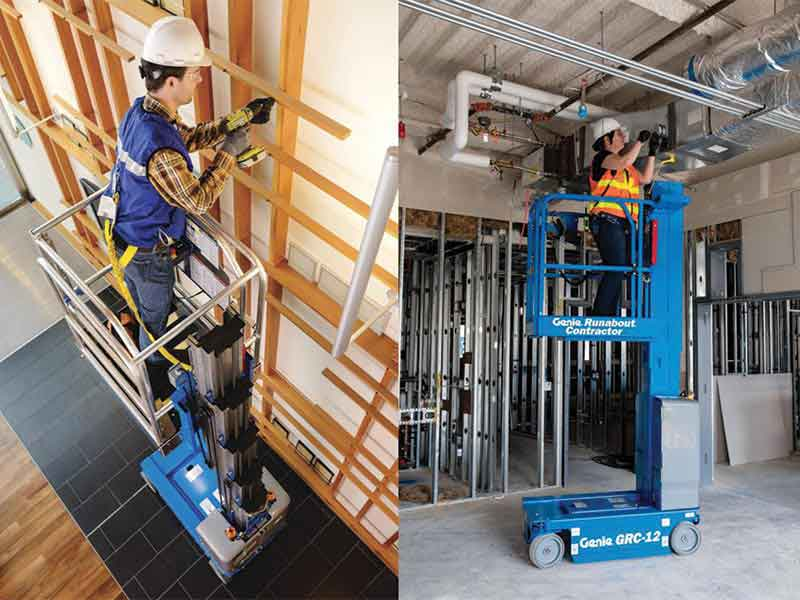 Terex brands GENIE® GR™, QS™ & GRC Vertical Mast Lifts Updated for Global Use