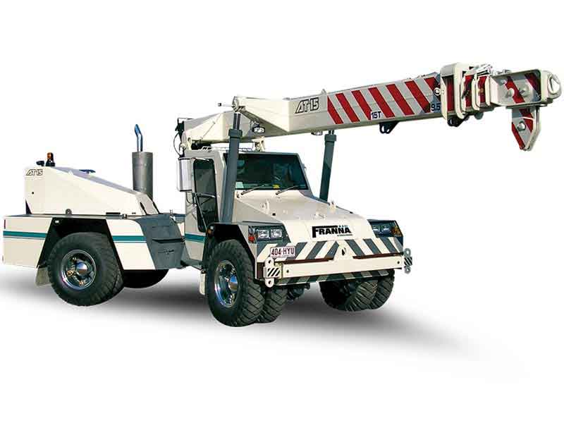 Terex announces expansion of Franna brand in India