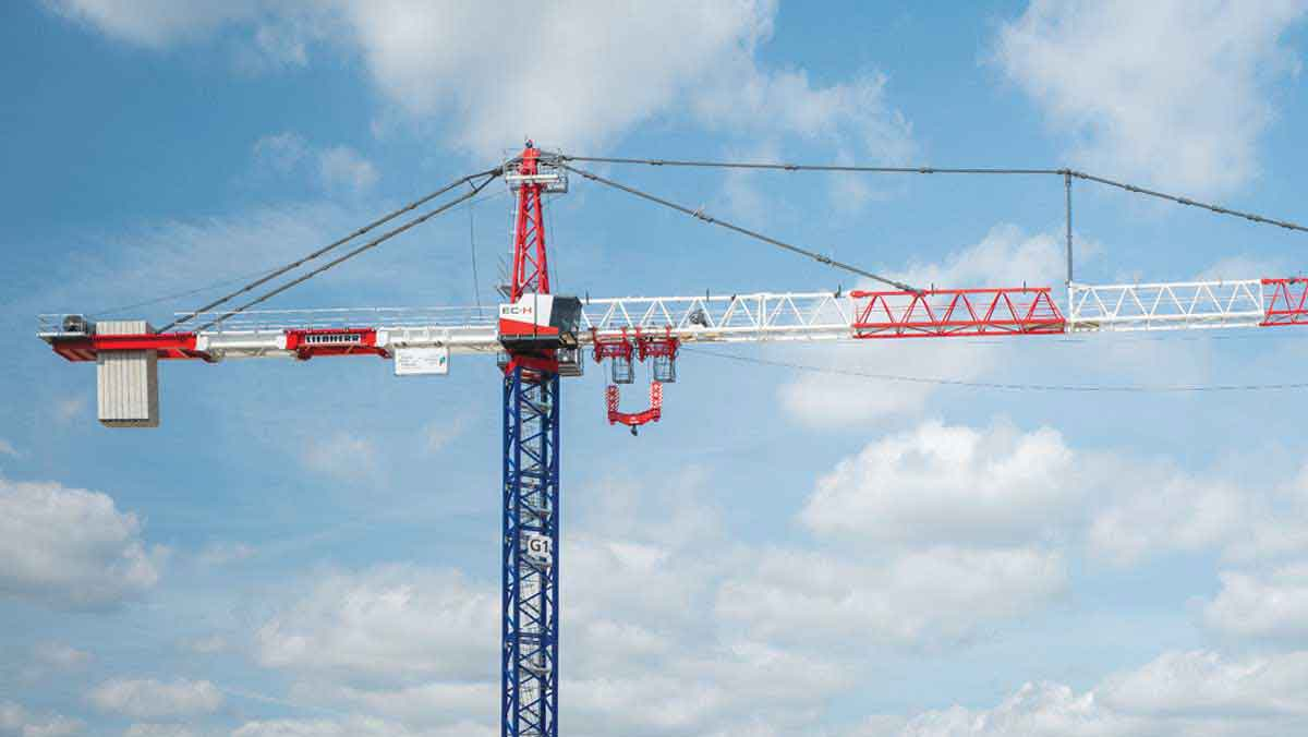 Liebherr 1000 EC-H 40 High-Top tower crane