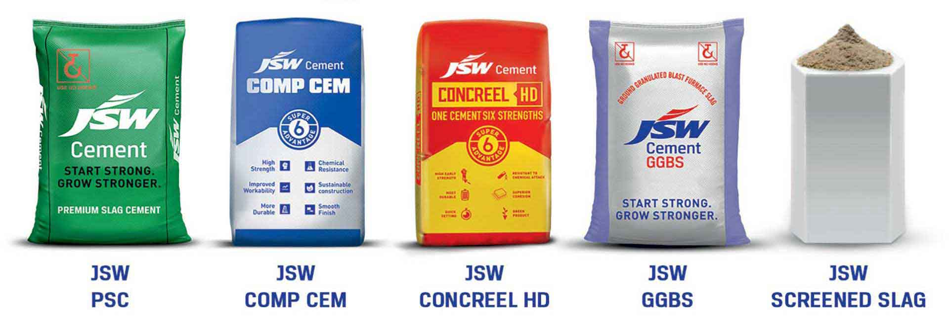 Green Products from the House of JSW Cement