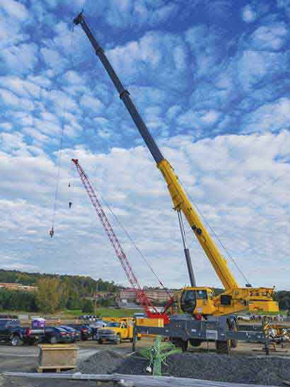 Yonkers Contracting Co boosts jobsite efficiency with the Grove GRT880