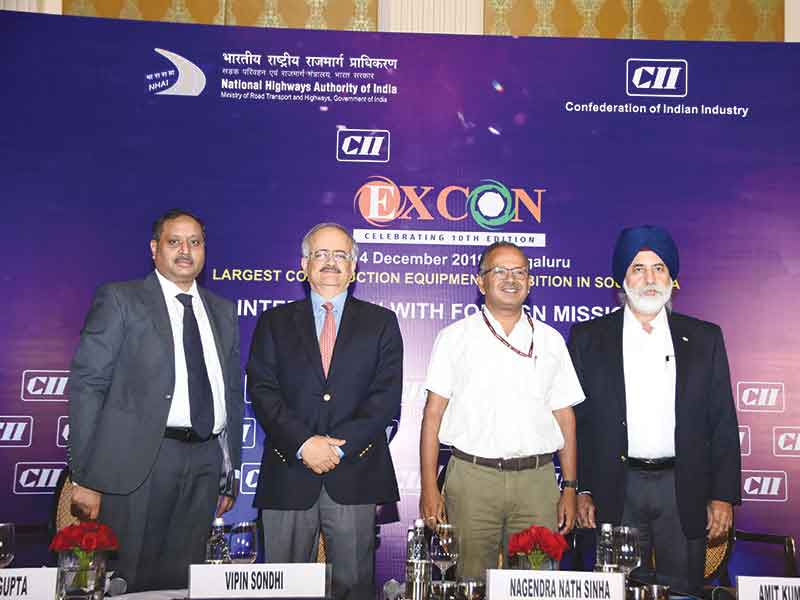 CII Excon 2019 Biggest Festival of Construction Equipment Industry