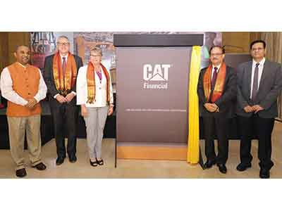 Cat launches financial arm in India; opens up business opportunities for customers