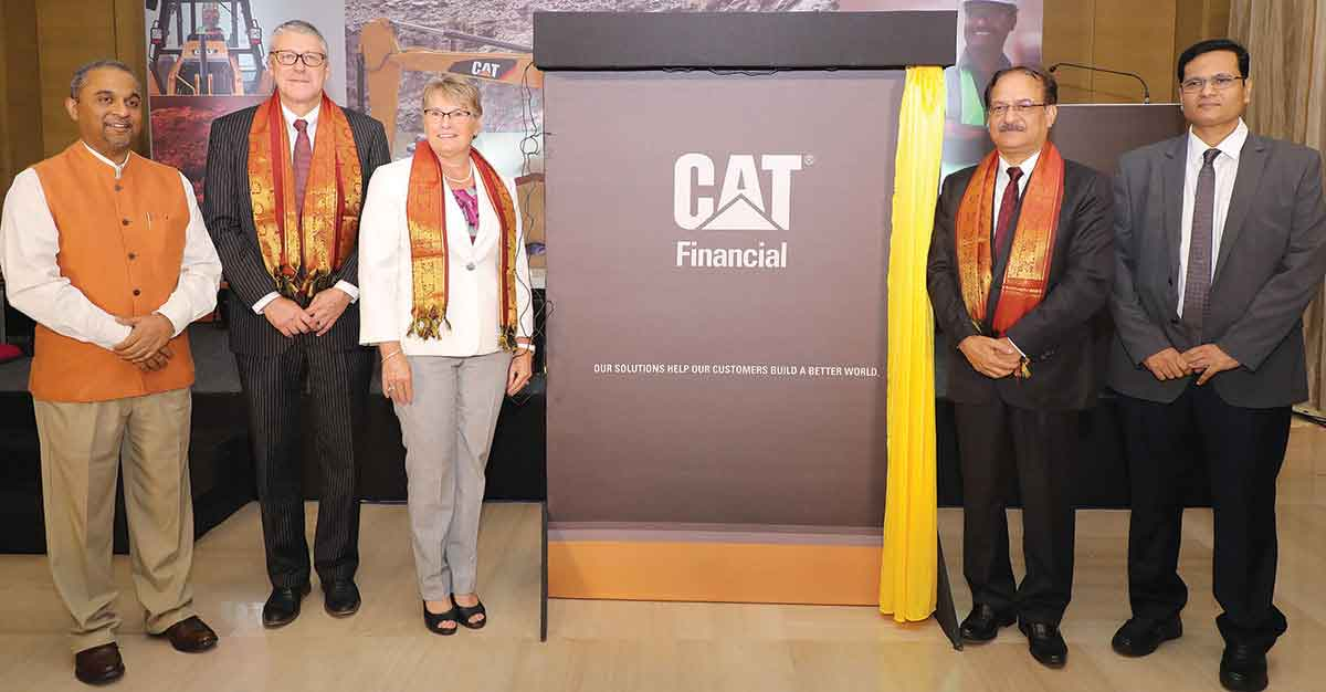 Cat launches financial arm in India